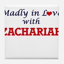 Madly in love with Zachariah Tile Coaster