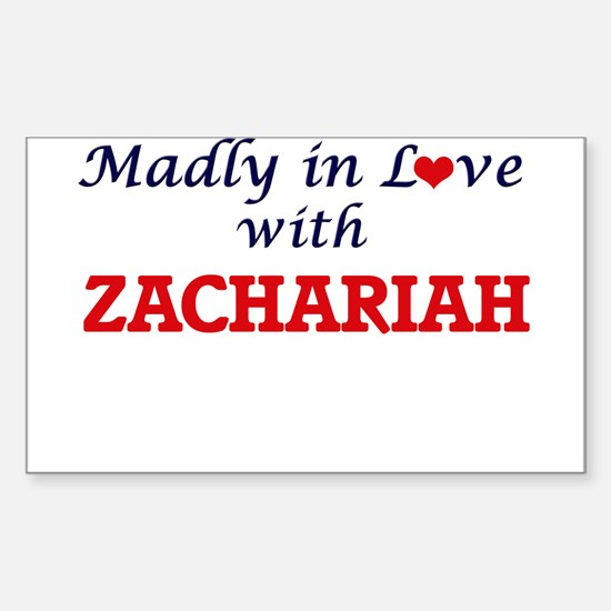 Madly in love with Zachariah Decal