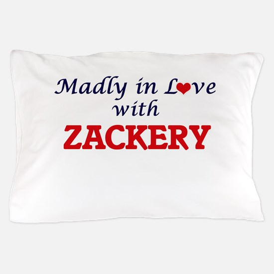 Madly in love with Zackery Pillow Case