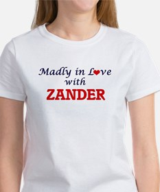 Madly in love with Zander T-Shirt