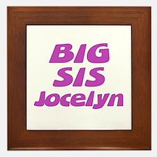 Big Sis Jocelyn Framed Tile