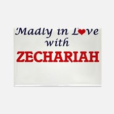 Madly in love with Zechariah Magnets