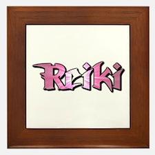 Reiki Framed Tile