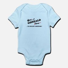 GONZALO thing, you wouldn't understand Body Suit