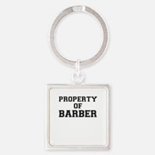 Property of BARBER Keychains