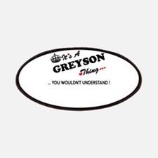 GREYSON thing, you wouldn't understand Patch