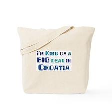 Big Deal in Croatia Tote Bag