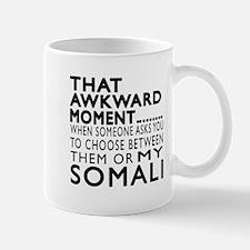 Awkward Somali Cat Designs Mug