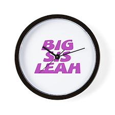 Big Sis Leah Wall Clock