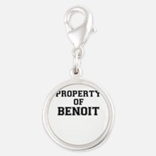 Property of BENOIT Charms