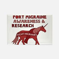Unicorns Support Migraine Awareness Magnets