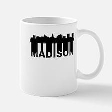 Roots Of Madison WI Skyline Mugs
