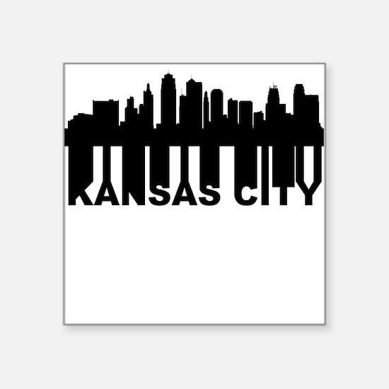 Kansas City Skyline Stickers CafePress - Custom vinyl stickers kansas city