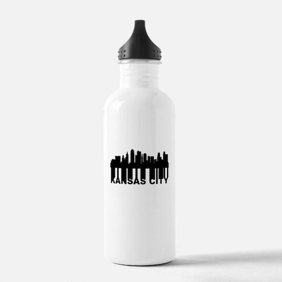Roots Of Kansas City MO Skyline Water Bottle