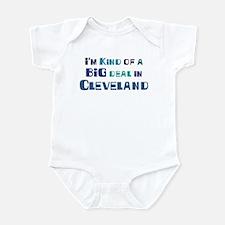 Big Deal in Cleveland Infant Bodysuit