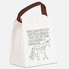 Cute Ribbon Canvas Lunch Bag