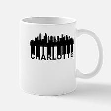 Roots Of Charlotte NC Skyline Mugs