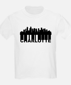 Roots Of Charlotte NC Skyline T-Shirt