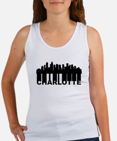 Roots Of Charlotte NC Skyline Tank Top