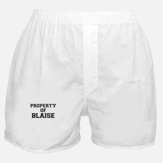 Property of BLAISE Boxer Shorts