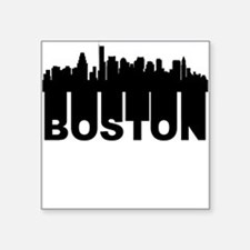 Roots Of Boston MA Skyline Sticker