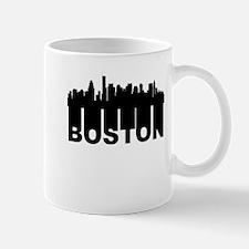 Roots Of Boston MA Skyline Mugs