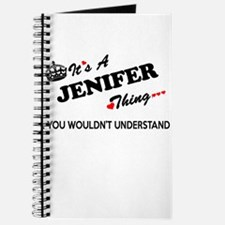 JENIFER thing, you wouldn't understand Journal
