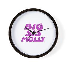 Big Sis Molly Wall Clock