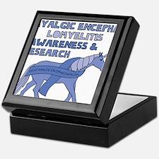 Unicorns Support Myalgic Encephalomye Keepsake Box