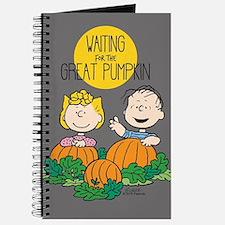 Peanuts: The Great Pumpkin Journal