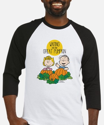 The Great Pumpkin Is Coming Baseball Jersey