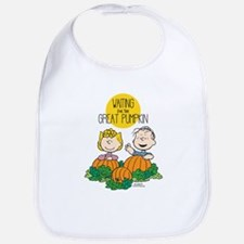 The Great Pumpkin Is Coming Bib