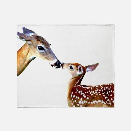 Cute Deer Throw Blanket