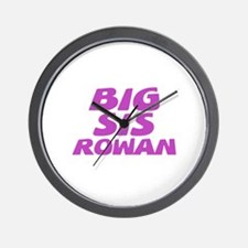 Big Sis Rowan Wall Clock