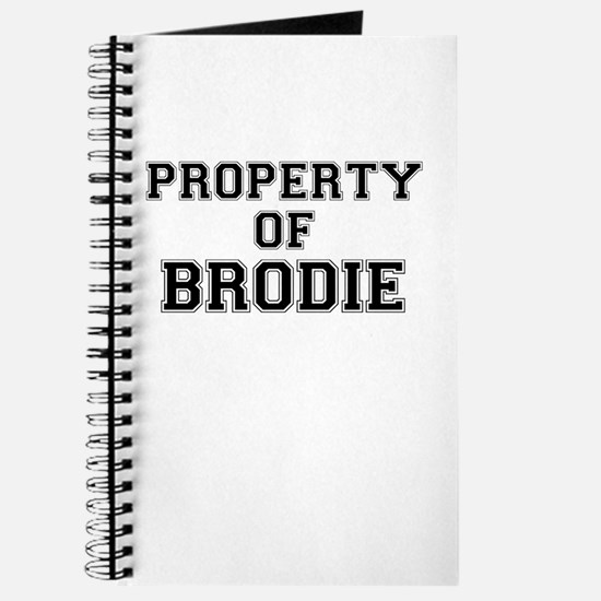 Property of BRODIE Journal