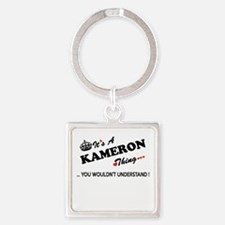 KAMERON thing, you wouldn't understand Keychains