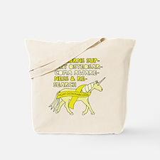 Unicorns Support Osteosarcoma Awareness Tote Bag