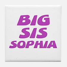 Big Sis Sophia Tile Coaster