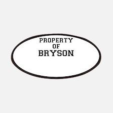 Property of BRYSON Patch