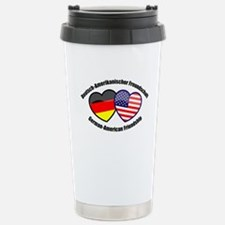Unique German american flag Travel Mug