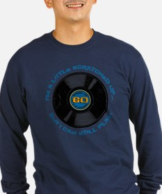 Scratched Record 60th Birthday Long Sleeve T-Shirt