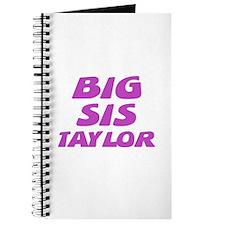 Big Sis Taylor Journal