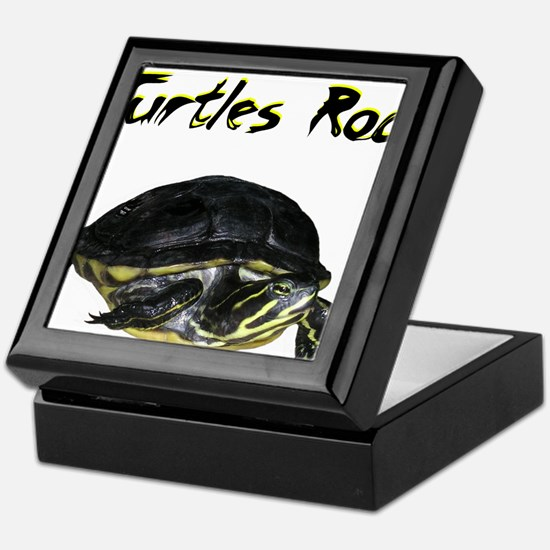 turtles_rock.jpg Keepsake Box