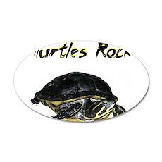turtles_rock.jpg Wall Decal