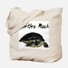 turtles_rock.jpg Tote Bag