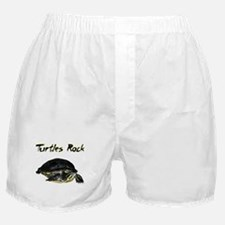turtles_rock.jpg Boxer Shorts