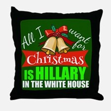 Hillary Christmas Throw Pillow