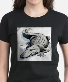 Alligator Gator Ash Grey T-Shirt