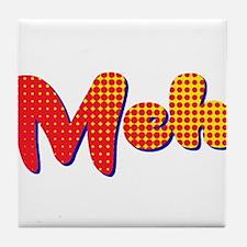 Meh Tile Coaster