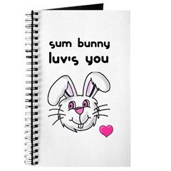 sum bunny luv's you Journal